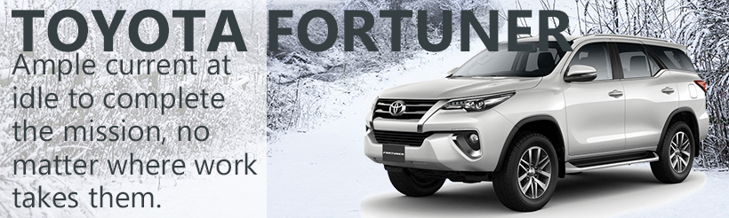 Toyota Fortuner Power Solutions