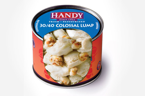 Handy Chilled Pasteurised Crab Meat Colossal (454g)