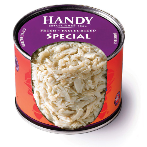 Handy Chilled Fresh Pasteurised Crab Special (454g)