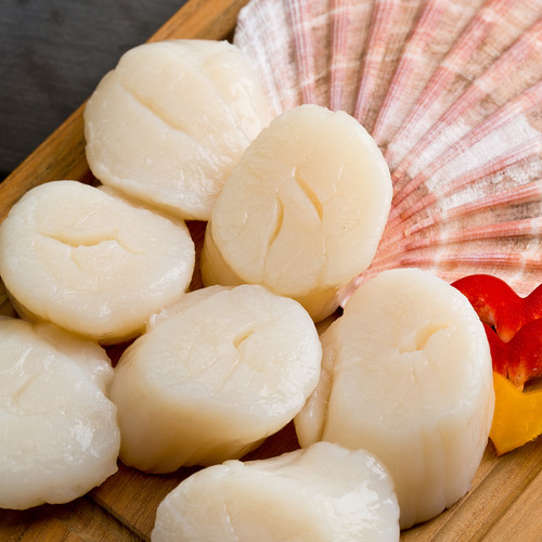 Frozen USA Scallops (300g per bag)