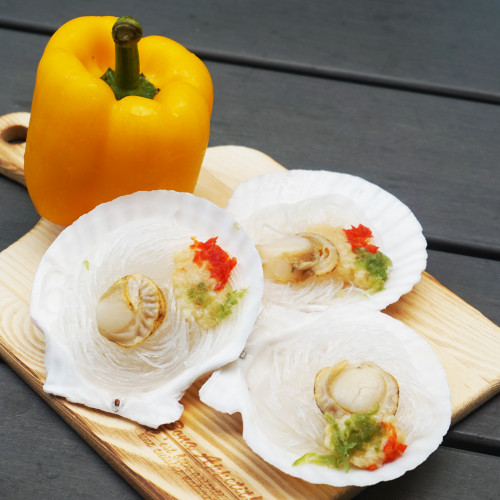Garlic Scallop With Vermicelli