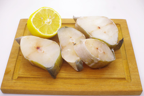 Delicious Atlantic Cod fish steaks, packed in a bag of 4. Perfect for that meal with the family and friends.