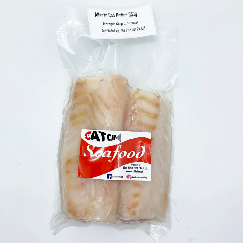 Atlantic Cod Portion 350g