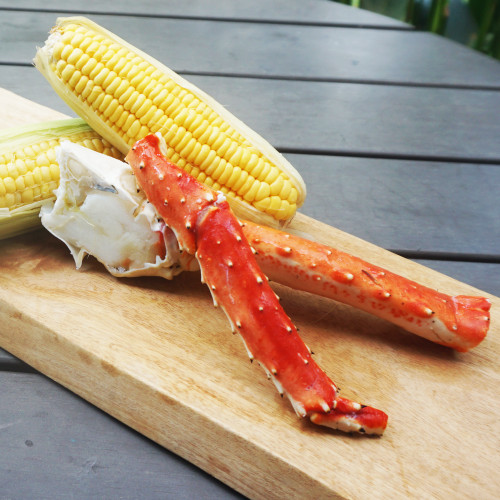 Catch Seafood Alaskan Cooked King Crab 250g