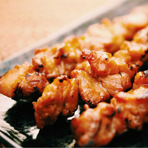 Teriyaki Chicken Skewer