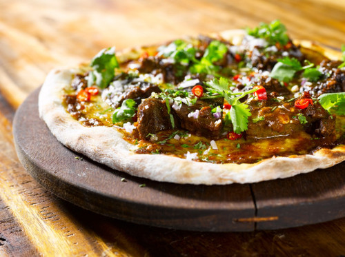 Gourmet Rendang Pizza