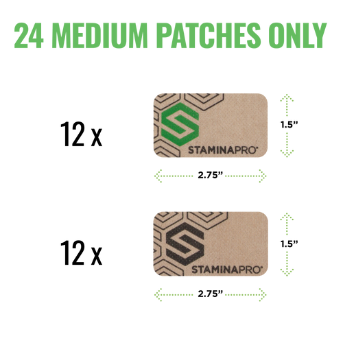 STAMINAPRO Medium Only Patches (Subscription)