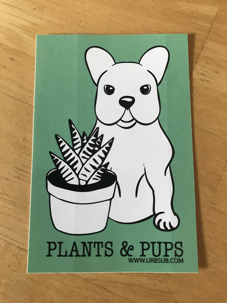 PLANTS & PUPS Stickers