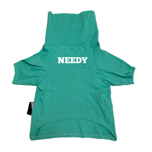 NEEDY Mint Dog Cowl Tee