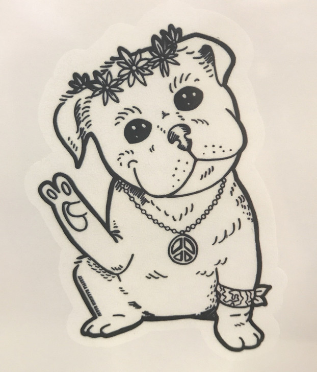 HIPPIE PITTY Temporary Tattoo