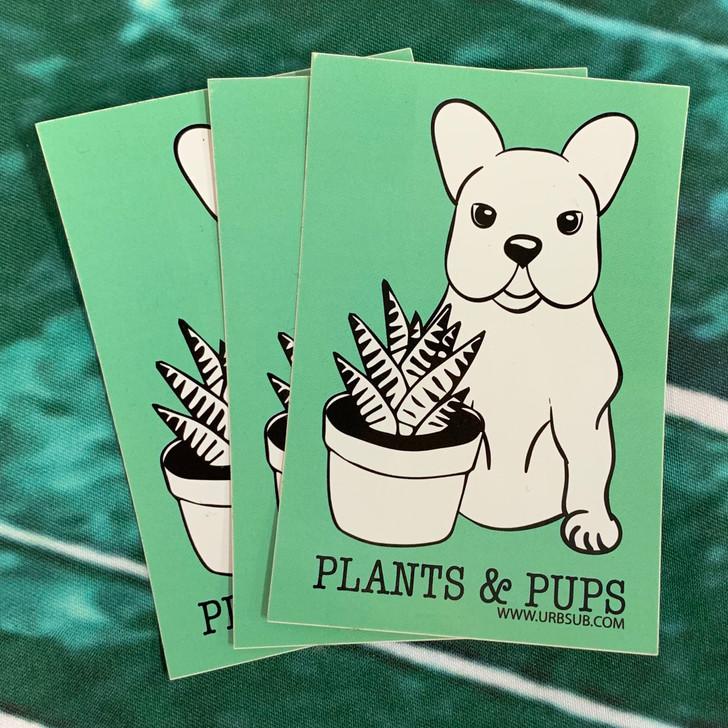 PLANTS & PUPS Sticker Pack