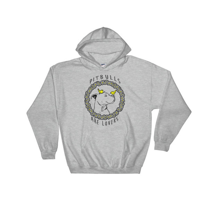 PIT BULLS ARE LOVERS Unisex Hoody