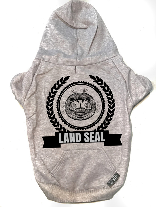 LAND SEAL Dog Zip-Up Hoody