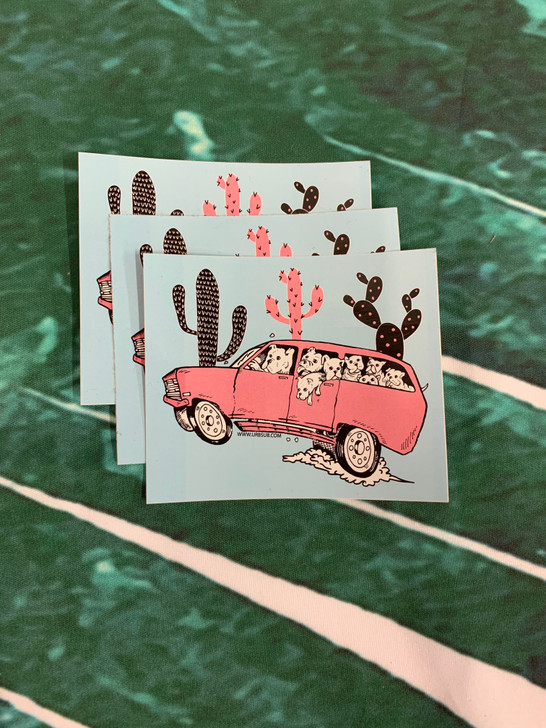 DESERT DOG DRIVE Stickers