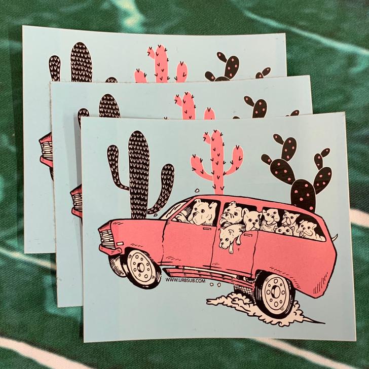 DESERT DOG DRIVE Sticker Pack