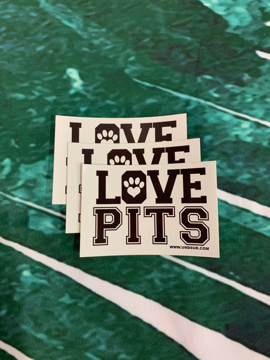 LOVE PITS Stickers