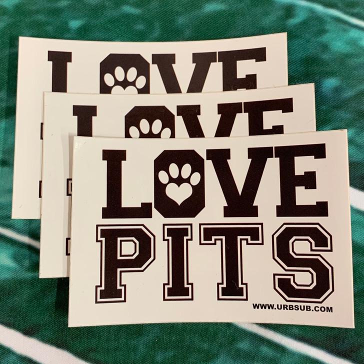 LOVE PITS Sticker Pack