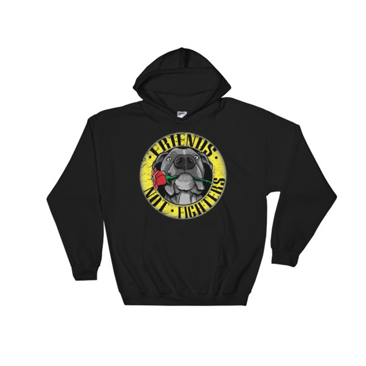 FRIENDS NOT FIGHTERS Hoody