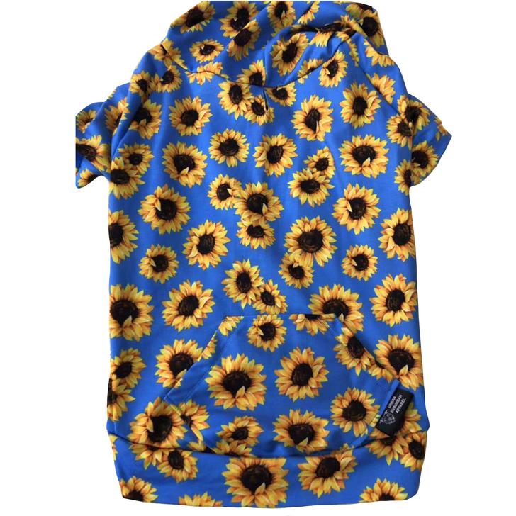 SUNFLOWER Dog Zip-Up Hoody