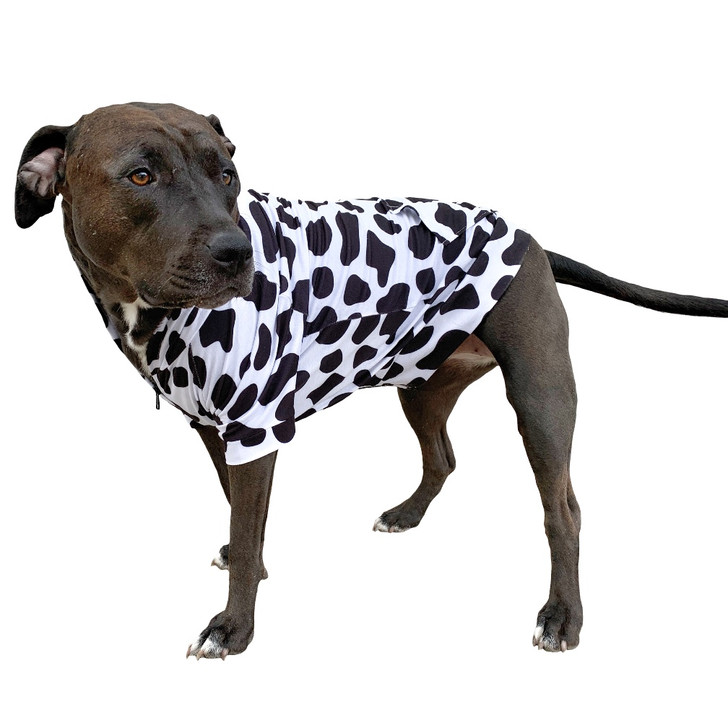 MOO Dog Zip-Up Hoody