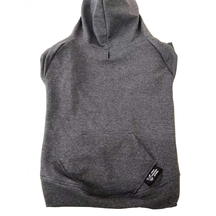 Dark Heather Dog Hoody