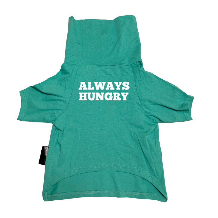 ALWAYS HUNGRY Mint Dog Cowl Tee