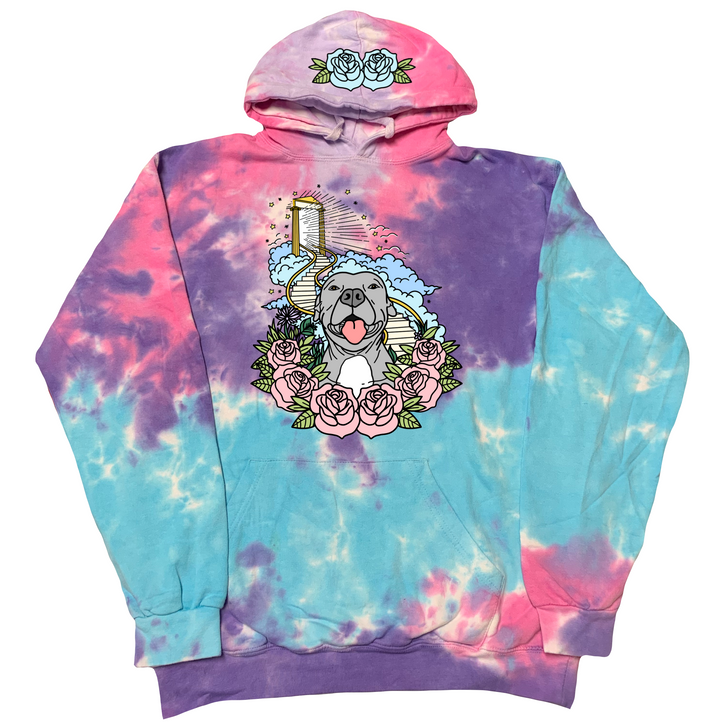 STAIRWAY TO HEAVEN Cotton Candy Hoody