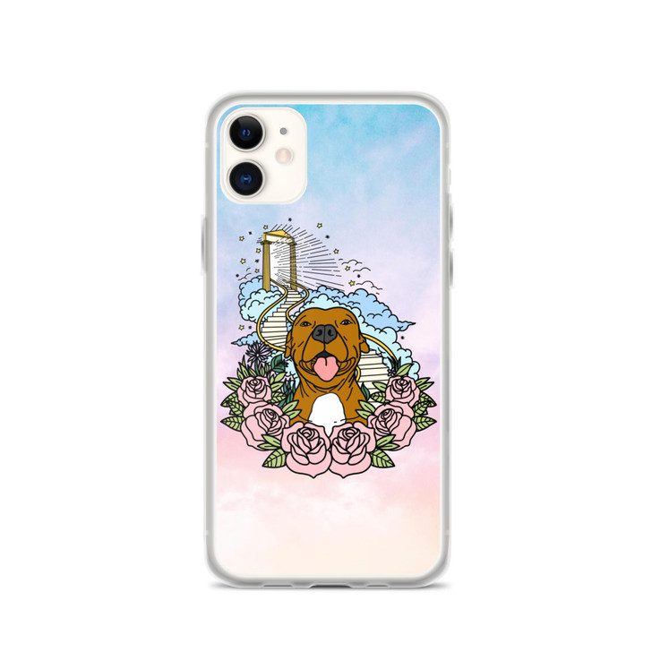 STAIRWAY TO HEAVEN (Brown Dog) iPhone Case