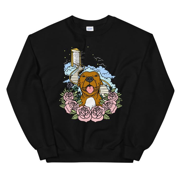 STAIRWAY TO HEAVEN (Brown Dog) Unisex Sweatshirt