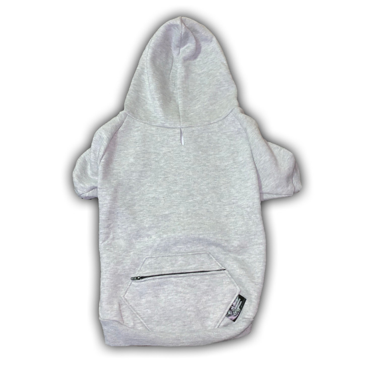 ALL I WANT IS EVERYTHING Zip Pocket Dog Zip-Up Hoody