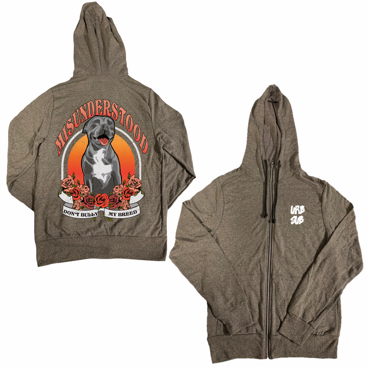 VINTAGE MISUNDERSTOOD Zip-Up Hoody