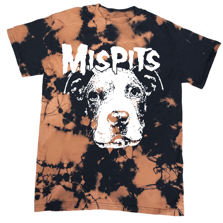 MISPITS Unisex Bleached Tee