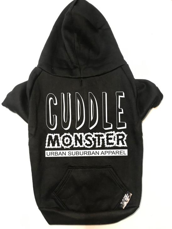 CUDDLE MONSTER Dog Zip-Up Hoody
