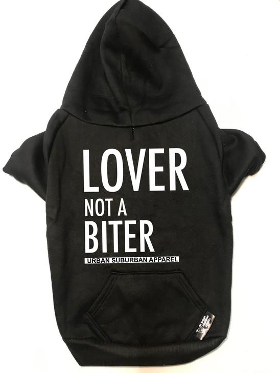 LOVER NOT A BITER Dog Zip-Ups