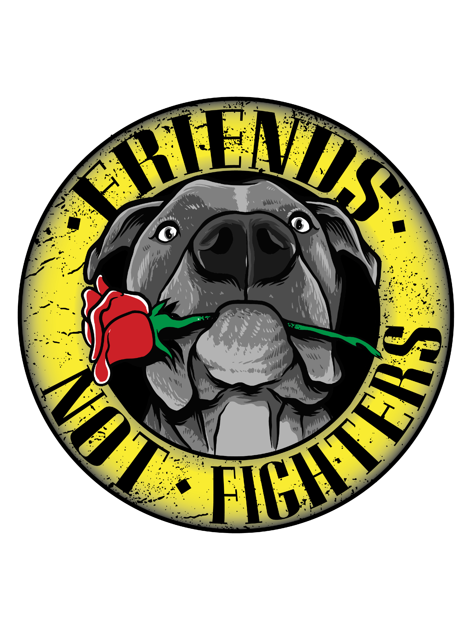FRIENDS NOT FIGHTERS