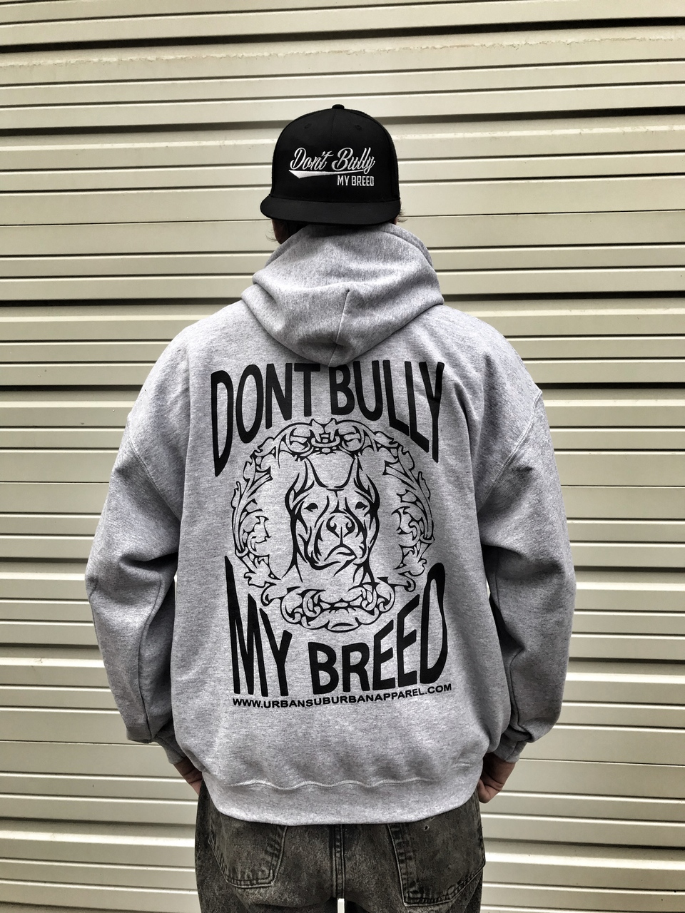 DON'T BULLY MY BREED (BACK PRINTED) Hoody