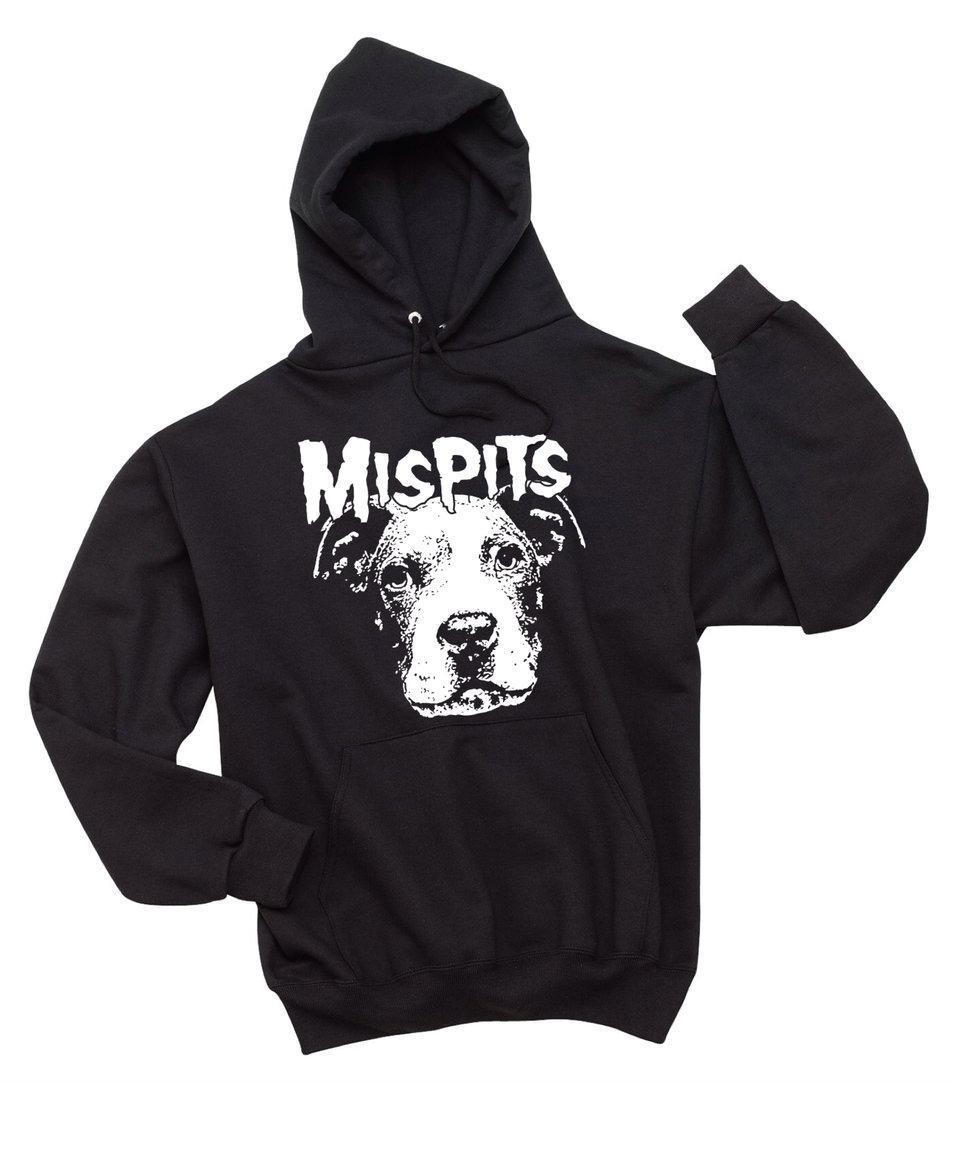 MISPITS Black Unisex Hoody