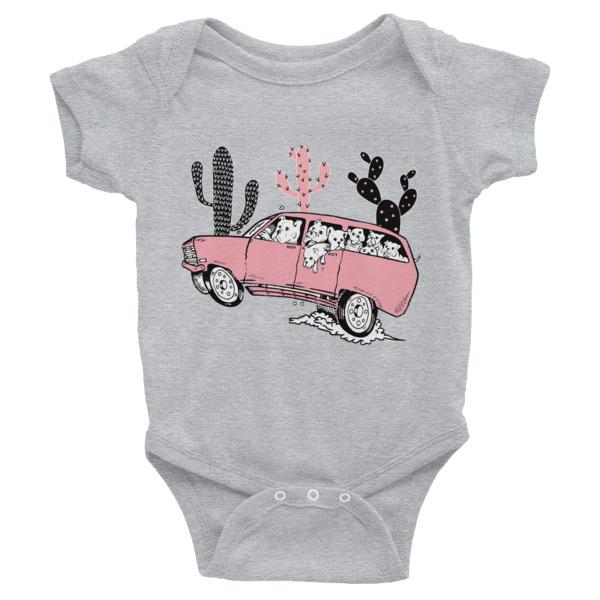 DESERT DOG DRIVE Infant Bodysuit