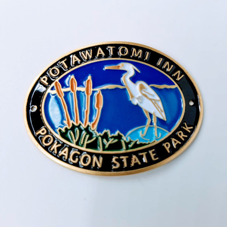 Pokagon Hiking Stick Medallion*