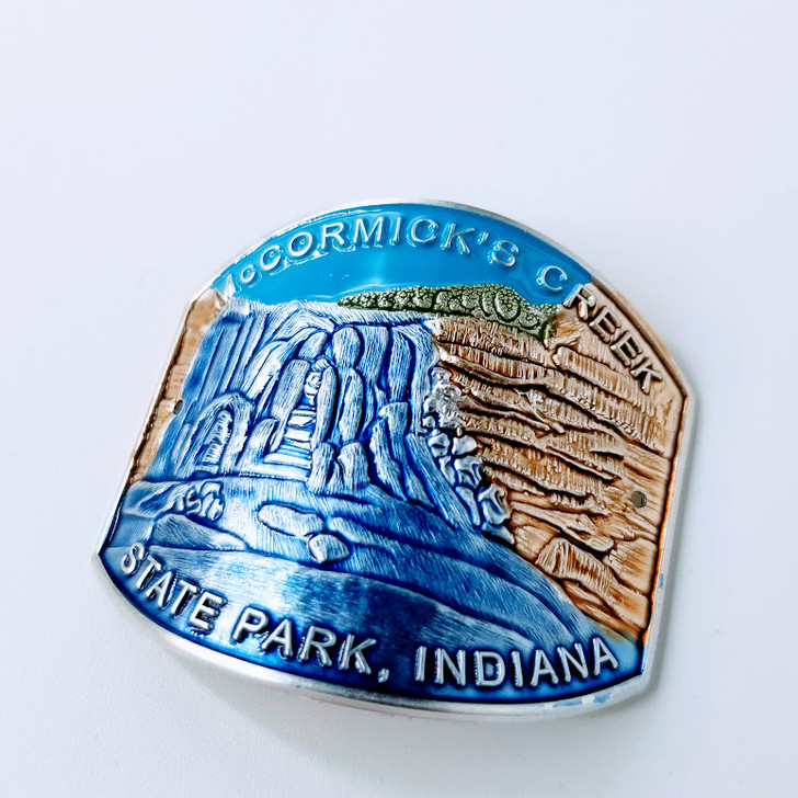Mccormick's Creek State Park Hiking Stick Medallion*
