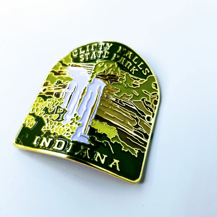 Clifty Falls State Park Hiking Stick Medallion*