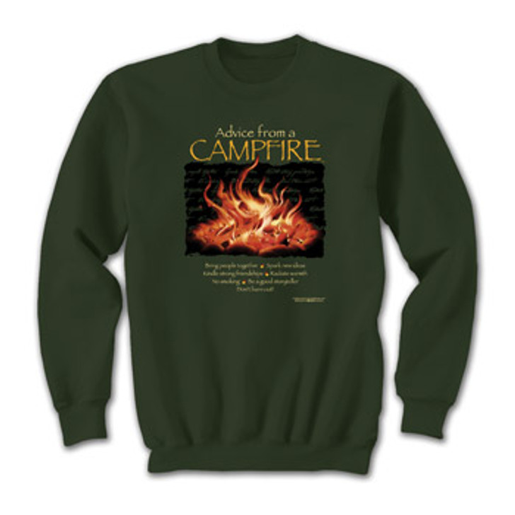 Advice From A Campfire SWEATSHIRT*