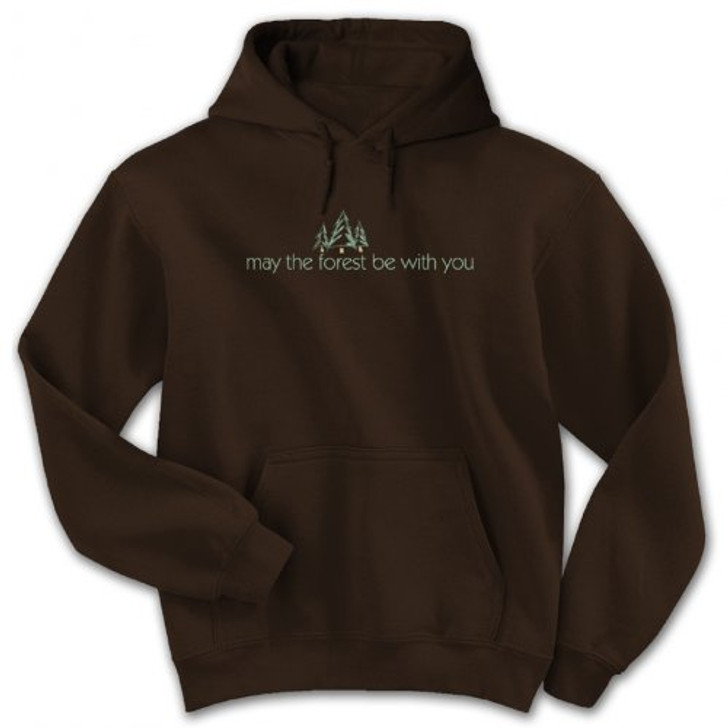 May the Forest be with you hoody (chocolate)*