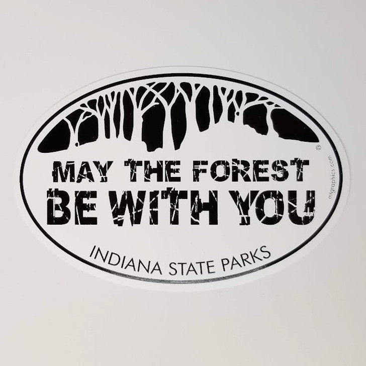 May the Forest be with You Vinyl Sticker*