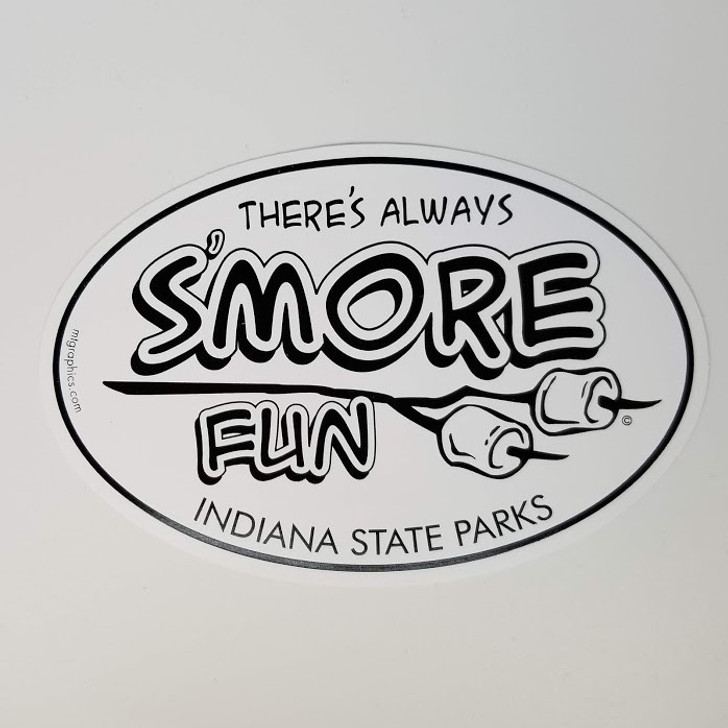 There's Always S'more Fun Vinyl Sticker*