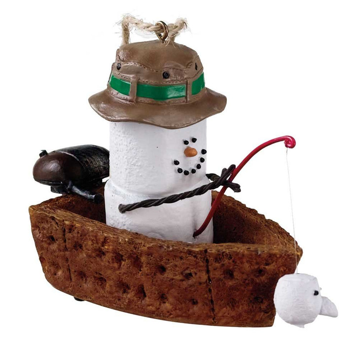 S'mores Fishing Boat Ornament*