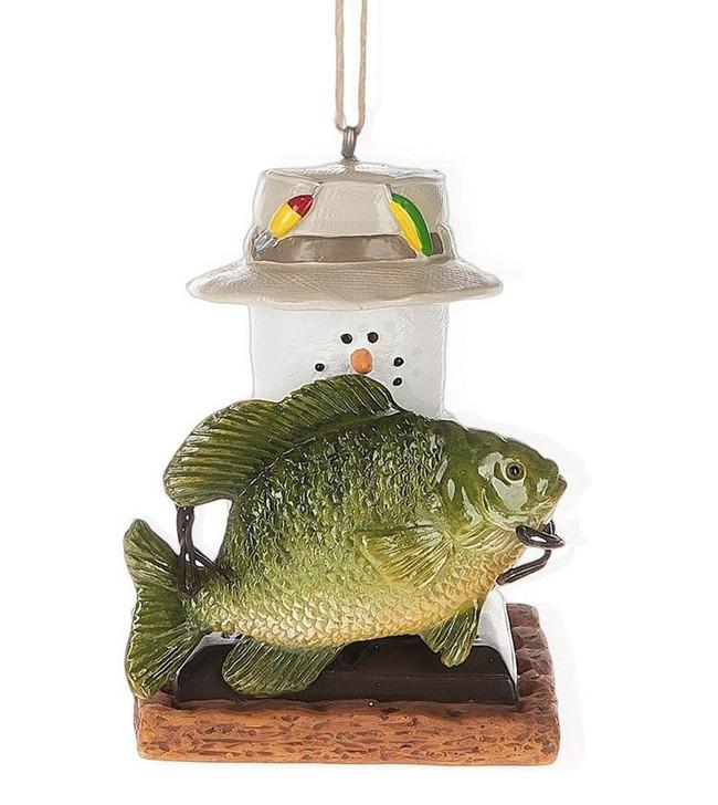 S'mores Fish Ornament*