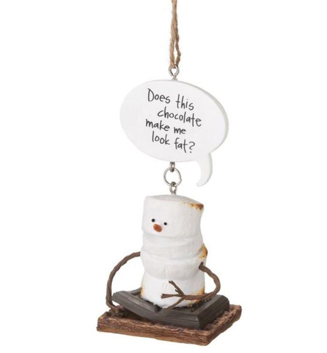 S'mores Look Fat Ornament*