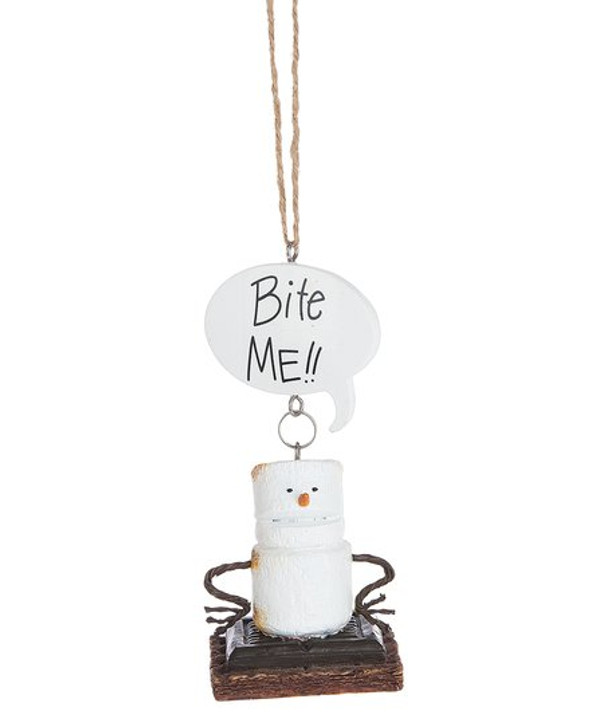 S'mores Bite Me Toasted Ornament*