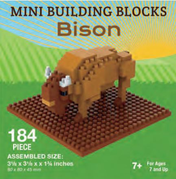 Mini-Building Blocks - Bison*